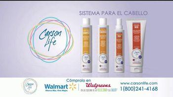 Carson Life Hair Care System TV Spot, 'Sistema de cuidado' [Spanish] - Thumbnail 8