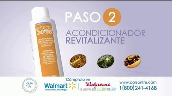 Carson Life Hair Care System TV Spot, 'Sistema de cuidado' [Spanish] - Thumbnail 4