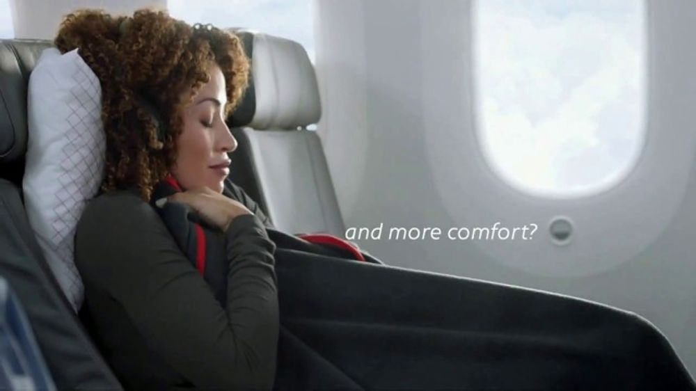 American Airlines Premium Economy TV Commercial More