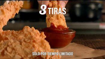 Popeyes $5 Flavor Favorites TV Spot, 'Único' [Spanish] - Thumbnail 6