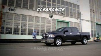 Ram Trucks Spring Clearance Event TV Spot, '2017 Ram 1500 for the Spring' [T2] - Thumbnail 1