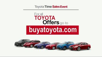 Toyota Time Sales Event TV Spot, 'Great Deals' [T1] - Thumbnail 4