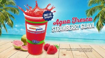 AmPm Agua Fresca Strawberry Guava TV Spot, 'Licorice Straw' - Thumbnail 8