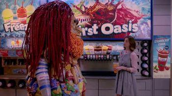 AmPm Agua Fresca Strawberry Guava TV Spot, 'Licorice Straw' - 15 commercial airings