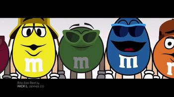 M&M's TV Spot, 'Bite-Size Beat by Nick L, Denver, CO' - Thumbnail 2