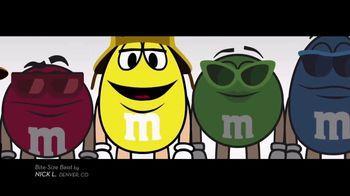 M&M's TV Spot, 'Bite-Size Beat by Nick L, Denver, CO' - Thumbnail 3