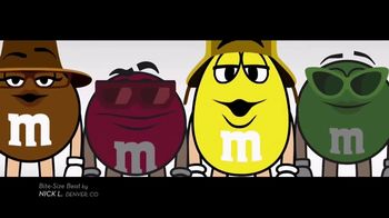M&M's TV Spot, 'Bite-Size Beat by Nick L, Denver, CO' - Thumbnail 4