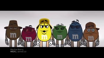M&M's TV Spot, 'Bite-Size Beat by Nick L, Denver, CO' - 648 commercial airings