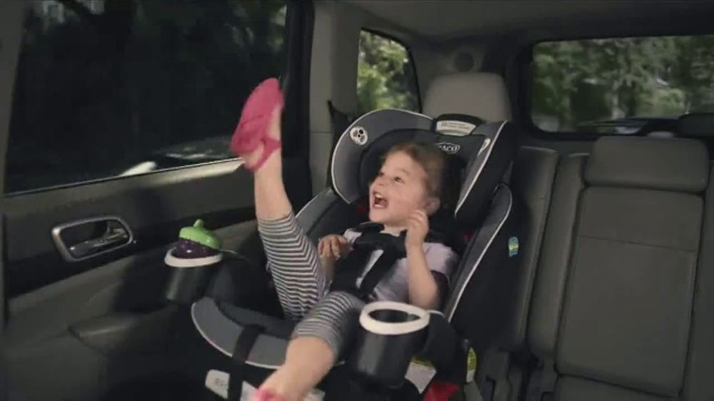 Graco 4Ever Extend2Fit Car Seat TV Commercial Growing Up