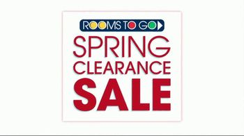 Rooms to Go Spring Clearance Sale TV Spot, 'Mark Your Calendar'