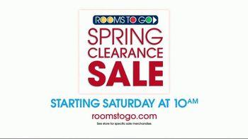 Rooms to Go Spring Clearance Sale TV Spot, 'Mark Your Calendar' - Thumbnail 9