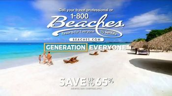 1-800 Beaches TV Spot, 'Everything's Included For Generation Everyone' - Thumbnail 6