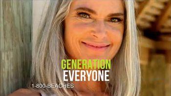 1-800 Beaches TV Spot, 'Everything's Included For Generation Everyone' - Thumbnail 1