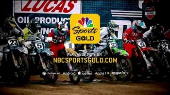 NBC Sports Gold TV Spot, 'Pro Motocross' - Thumbnail 8