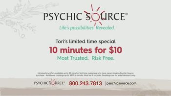 Psychic Source Tori's Special TV Spot, 'Clarity' Featuring Tori Spelling