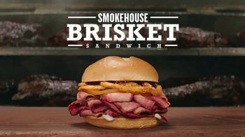Arby's Smokehouse Brisket Sandwich TV Spot, 'Low and Slow' - 2496 commercial airings