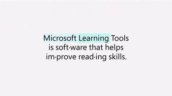 Microsoft TV Spot, 'Education and Technology: Helping Students Read' - Thumbnail 5
