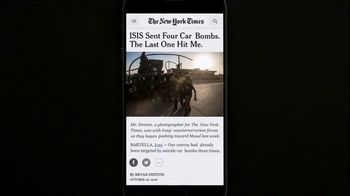 The New York Times TV Spot, 'The Truth Is Hard to Find: Bryan Denton' - Thumbnail 4