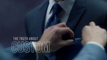 Men's Wearhouse TV Spot, 'The Truth About Custom'