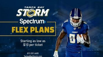 Tampa Bay Storm Flex Ticket Plans TV Spot, 'Batten Down the Hatches' - 31 commercial airings