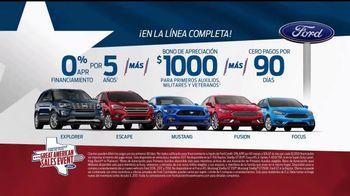Ford Great American Sales Event TV Spot, 'Bono de apreciación' [Spanish] [T2] - Thumbnail 9