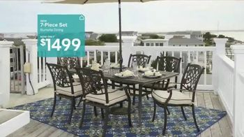 Ashley Homestore TV Spot, 'Turn Up the Wow: Outdoor Furniture' - Thumbnail 4