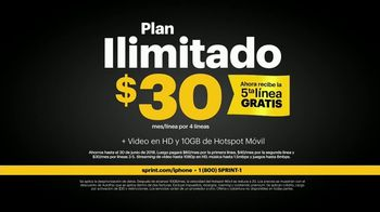 Sprint Unlimited TV Spot, 'Como la mía: iPhone 7' [Spanish] - Thumbnail 7