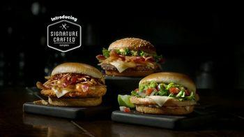 McDonald's Signature Crafted Recipes TV Spot, 'Introduction' - Thumbnail 2
