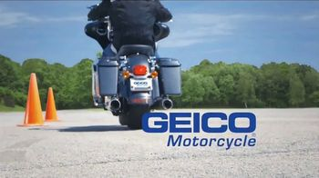 GEICO Motorcycle TV Spot, 'Safety Course' - Thumbnail 10