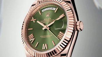 Rolex Day-Date 40 TV Spot, 'Everose Gold' - Thumbnail 4