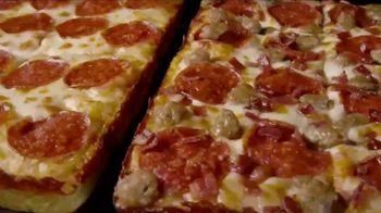Little Caesars Half-N-Half DEEP!DEEP! Dish Pizza TV Spot, 'Because We Can' - Thumbnail 1
