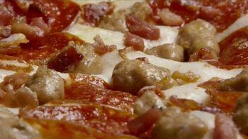 Little Caesars Half-N-Half DEEP!DEEP! Dish Pizza TV Spot, 'Because We Can' - Thumbnail 2