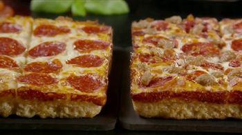 Little Caesars Half-N-Half DEEP!DEEP! Dish Pizza TV Spot, 'Because We Can' - Thumbnail 4
