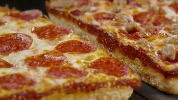 Little Caesars Half-N-Half DEEP!DEEP! Dish Pizza TV Spot, 'Because We Can' - Thumbnail 5