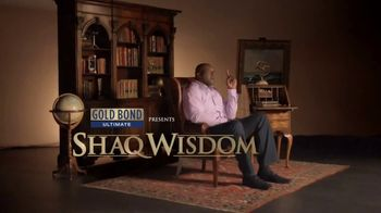 Gold Bond Body Powder Spray TV Spot, 'Shaq Wisdom' Ft. Shaquille O'Neal - 1256 commercial airings