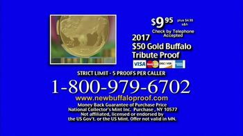 National Collector's Mint 2017 Gold Buffalo Tribute Proof TV Spot, 'Purity' - Thumbnail 9