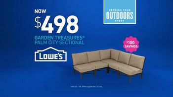 Lowe's Refresh Your Outdoors Event TV Spot, 'The Moment: Garden Treasures' - Thumbnail 6