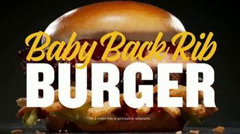 Carl's Jr. Baby Back Rib Burger TV Spot, 'While They Last' - Thumbnail 8