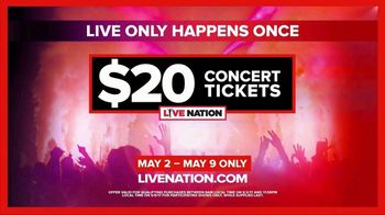 Live Nation TV Spot, '2017 Summer Concert Tickets' - Thumbnail 8