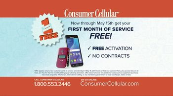 Consumer Cellular TV Spot, 'Better Value: Pie: First Month Free: Plans $10+ a Month' - Thumbnail 10