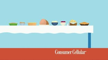 Consumer Cellular TV Spot, 'Better Value: Pie: First Month Free: Plans $10+ a Month' - Thumbnail 2