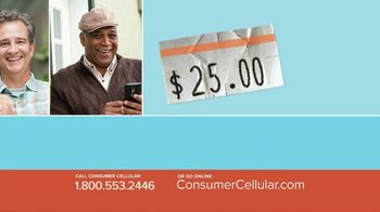 Consumer Cellular TV Spot, 'Better Value: Pie: First Month Free: Plans $10+ a Month' - Thumbnail 5