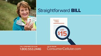 Consumer Cellular TV Spot, 'Better Value: Pie: First Month Free: Plans $10+ a Month' - Thumbnail 6