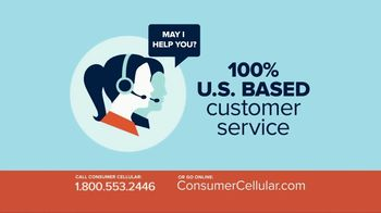 Consumer Cellular TV Spot, 'Better Value: Pie: First Month Free: Plans $10+ a Month' - Thumbnail 7