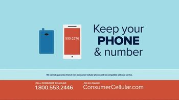 Consumer Cellular TV Spot, 'Better Value: Pie: First Month Free: Plans $10+ a Month' - Thumbnail 9