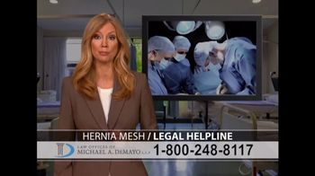 Law Offices of Michael A. DeMayo TV Spot, 'Hernia Mesh' - Thumbnail 5