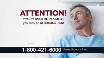 Robin Raynish Law TV Spot, 'Hernia Mesh'