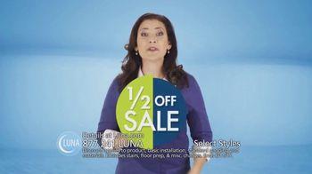Luna Half Off Sale TV Spot, 'Shop Select Styles of Carpet and Flooring' - Thumbnail 7