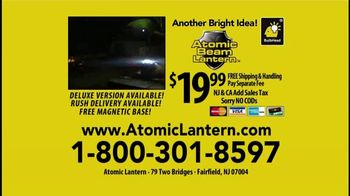 Atomic Beam Lantern TV Spot, '360 Degrees of Bright Light' Ft. Hunter Ellis - Thumbnail 8