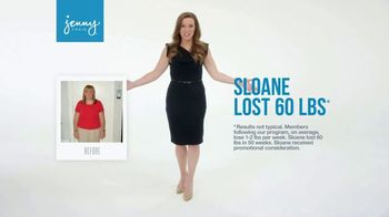 Jenny Craig TV Spot, 'Sloane: 15 Pounds for $15' - Thumbnail 1